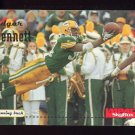 1996 Skybox Impact Football #049 Edgar Bennett - Green Bay Packers