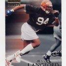1996 Skybox Premium Football #208 Jevon Langford RC - Cincinnati Bengals