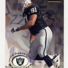 1996 Skybox Premium Football #129 Chester McGlockton - Oakland Raiders