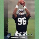 1997 Donruss Football #220 Darrell Russell RC - Oakland Raiders
