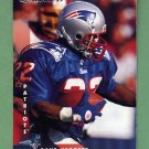 1997 Donruss Football #162 Dave Meggett - New England Patriots