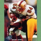 1997 Donruss Football #155 Brent Jones - San Francisco 49ers
