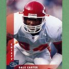 1997 Donruss Football #145 Dale Carter - Kansas City Chiefs