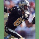 1997 Donruss Football #098 Michael Haynes - New Orleans Saints
