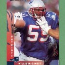 1997 Donruss Football #089 Willie McGinest - New England Patriots