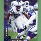 1997 Donruss Football #086 Quentin Coryatt - Indianapolis Colts