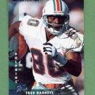1997 Donruss Football #081 Fred Barnett - Miami Dolphins