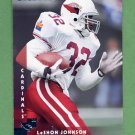 1997 Donruss Football #074 LeShon Johnson - Arizona Cardinals