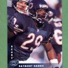 1997 Donruss Football #056 Raymont Harris - Chicago Bears