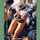 1997 Donruss Football #032 Errict Rhett - Tampa Bay Buccaneers