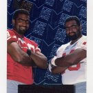 1996 Metal Football #139 Sam & Sean Manuel RC - San Francisco 49ers