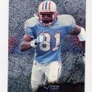 1996 Metal Football #049 Chris Sanders - Houston Oilers