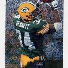 1996 Metal Football #042 Edgar Bennett - Green Bay Packers