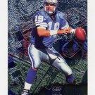 1996 Metal Football #038 Scott Mitchell - Detroit Lions