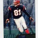 1996 Metal Football #027 Carl Pickens - Cincinnati Bengals