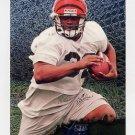 1996 Metal Football #026 Ki-Jana Carter - Cincinnati Bengals