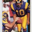 1992 Action Packed Football #133 Tony Zendejas - Los Angeles Rams