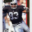 1992 Action Packed Football #127 Greg Townsend - Los Angeles Raiders