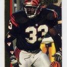 1992 Action Packed Football #034 David Fulcher - Cincinnati Bengals