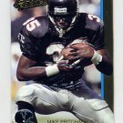 1992 Action Packed Football #007 Mike Pritchard - Atlanta Falcons