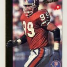1992 Action Packed Rookie Update Football #33 Shane Dronett RC - Denver Broncos