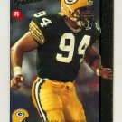 1992 Action Packed Rookie Update Football #15 Mark D'Onofrio RC - Green Bay Packers