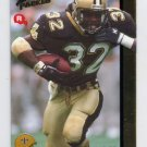 1992 Action Packed Rookie Update Football #13 Vaughn Dunbar RC - New Orleans Saints
