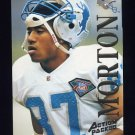 1995 Action Packed Football #099 Johnnie Morton - Detroit Lions