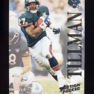 1995 Action Packed Football #058 Lewis Tillman - Chicago Bears