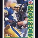 1992 Fleer Football #442 Ricardo McDonald RC