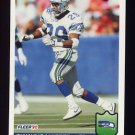 1992 Fleer Football #390 Dwayne Harper - Seattle Seahawks