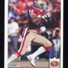 1992 Fleer Football #385 John Taylor - San Francisco 49ers