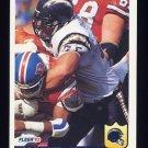 1992 Fleer Football #366 Joe Phillips - San Diego Chargers
