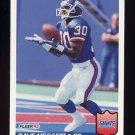 1992 Fleer Football #298 Dave Meggett - New York Giants