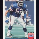 1992 Fleer Football #295 Pepper Johnson - New York Giants