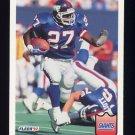 1992 Fleer Football #292 Rodney Hampton - New York Giants