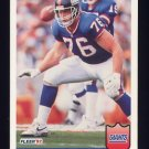1992 Fleer Football #290 John Elliott - New York Giants