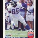 1992 Fleer Football #287 Stephen Baker - New York Giants