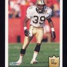 1992 Fleer Football #280 Brett Maxie - New Orleans Saints