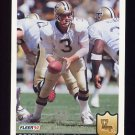 1992 Fleer Football #275 Bobby Hebert - New Orleans Saints