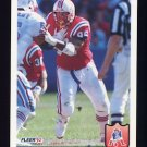 1992 Fleer Football #268 Brent Williams - New England Patriots
