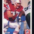 1992 Fleer Football #259 Pat Harlow - New England Patriots