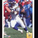 1992 Fleer Football #251 John Randle - Minnesota Vikings
