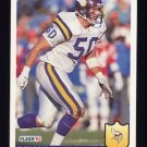 1992 Fleer Football #239 Ray Berry - Minnesota Vikings
