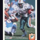 1992 Fleer Football #235 Sammie Smith - Miami Dolphins