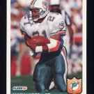 1992 Fleer Football #229 Mark Higgs - Miami Dolphins
