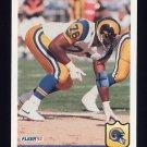 1992 Fleer Football #221 Robert Young - Los Angeles Rams