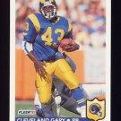 1992 Fleer Football #212 Cleveland Gary - Los Angeles Rams