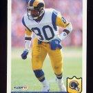 1992 Fleer Football #210 Henry Ellard - Los Angeles Rams