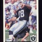 1992 Fleer Football #198 Jeff Jaeger - Los Angeles Raiders